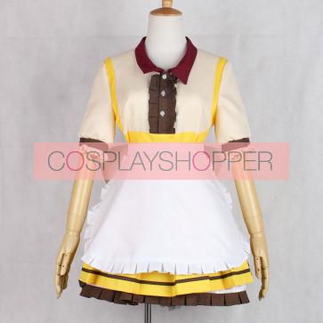Love Live! Maki Nishikino COCO'S Maid Cosplay Costume