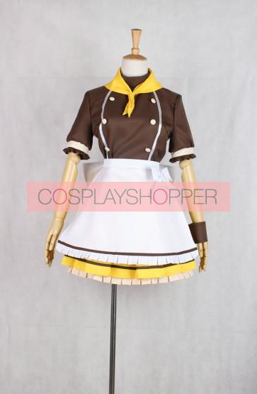 Love Live! Hanayo Koizumi COCO'S Maid Cosplay Costume