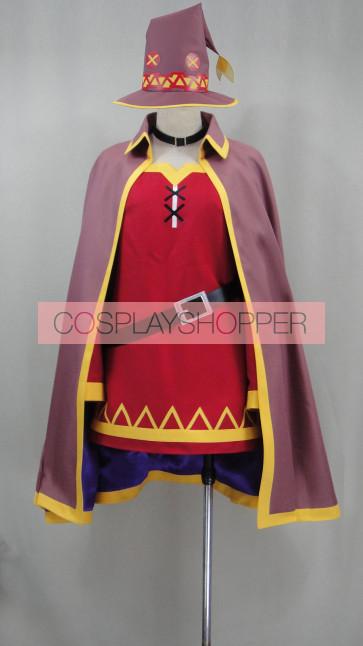 KonoSuba Megumin Cosplay Costume