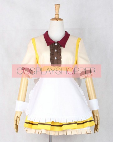 Love Live! Umi Sonoda COCO'S Maid Cosplay Costume