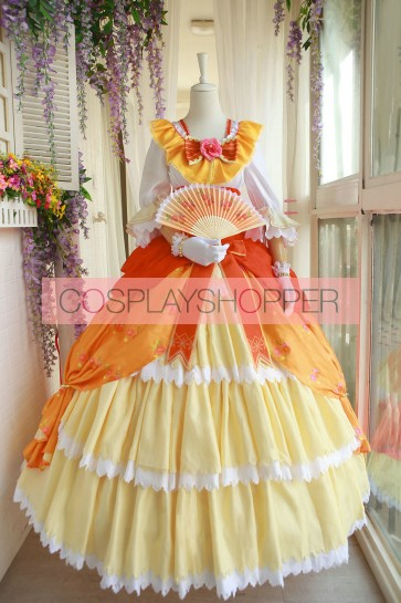 Love Live! Honoka Kosaka Ball Ver. Cosplay Costume