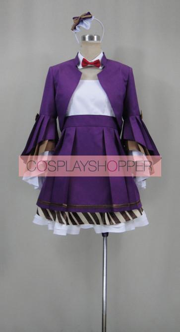 Love Live! Maki Nishikino Purple Uniform Cosplay Costume