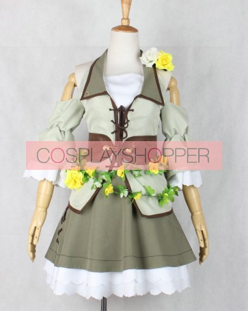 Love Live! Hanayo Koizumi Land of Fairies Ver. Cosplay Costume
