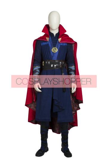 "Doctor Strange Stephen ""Stephen"" Vincent Strange Cosplay Costume With Boots"