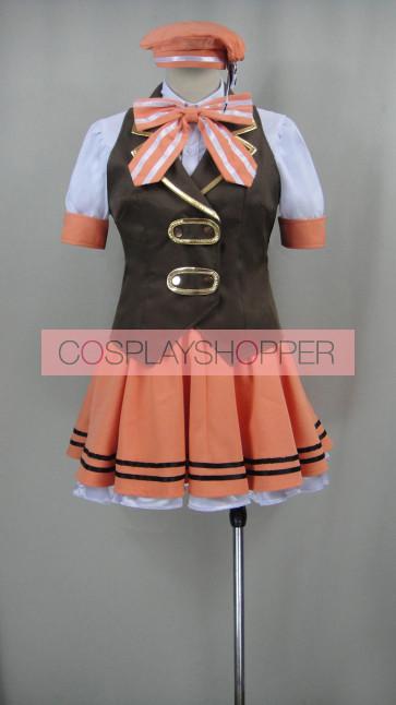 Is the Order a Rabbit? Syaro Kirima Uniform Cosplay Costume