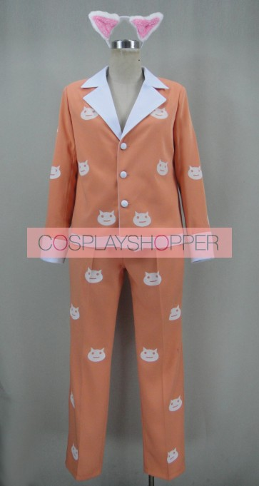 Monogatari Tsubasa Cat Uniform Cosplay Costume