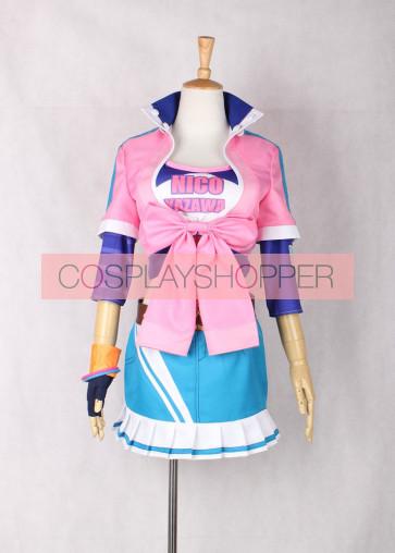 Love Live! Nico Yazawa Baseball Ver. Cosplay Costume