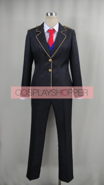 RWBY Boy School Uniform Cosplay Costume
