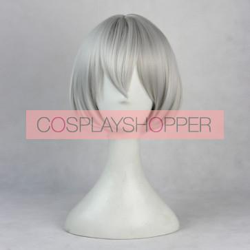 Gray 35cm Zootopia Judy Hopps Human Cosplay Wig