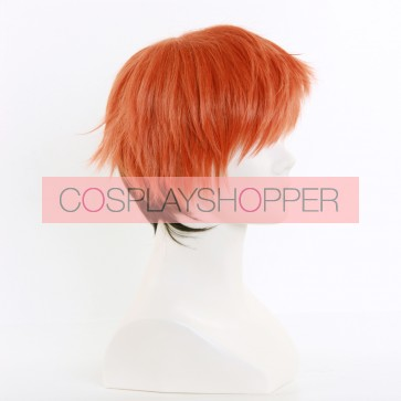 Black and Orange 30cm Zootopia Nick Wilde Human Cosplay Wig