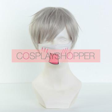 Gray 32cm Zootopia Judy Hopps Human Cosplay Wig
