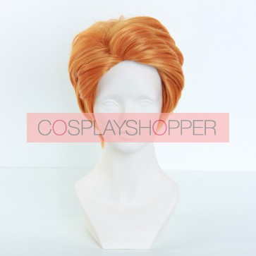 Orange 35cm Zootopia Nick Wilde Human Cosplay Wig