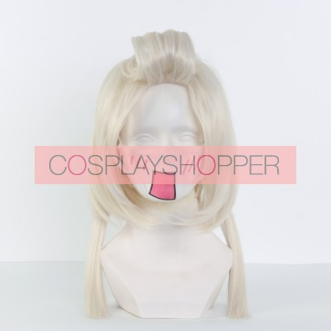 Gold 55cm Zootopia Dawn Bellwether Human Cosplay Wig