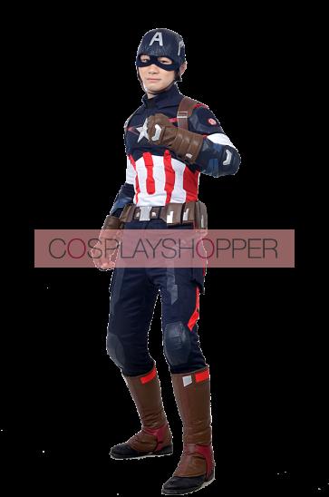The Avengers 2 Captain America Cosplay Costume