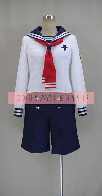 Free! Iwatobi Swim Club Rin Matsuoka Sailor Suit Cosplay Costume