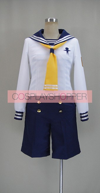 Free! Iwatobi Swim Club Nagisa Hazuki Sailor Suit Cosplay Costume