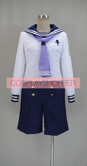 Free! Iwatobi Swim Club Rei Ryugazaki Sailor Suit Cosplay Costume