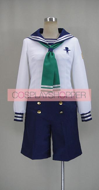 Free! Iwatobi Swim Club Makoto Tachibana Sailor Suit Cosplay Costume