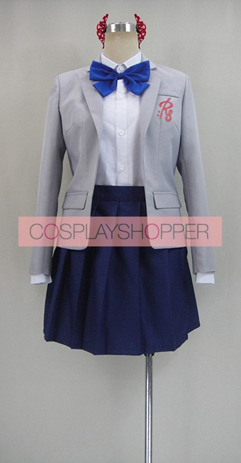 Monthly Girls' Nozaki-kun Chiyo Sakura Uniform Cosplay Costume