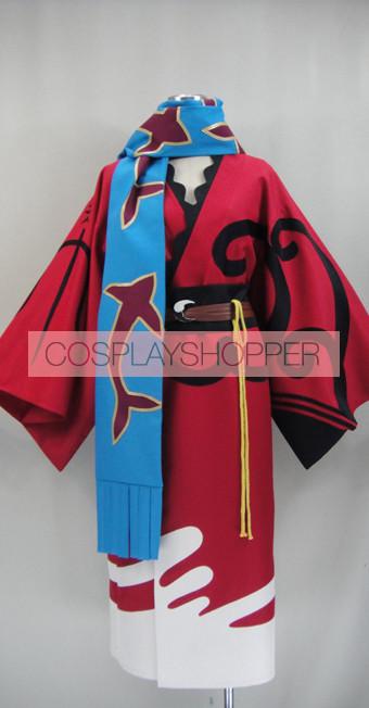 Bakumatsu Rock Ryoma Sakamoto Kimono Cosplay Costume