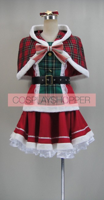 Love Live! SR Card Honoka Kosaka Christmas Cosplay Costume