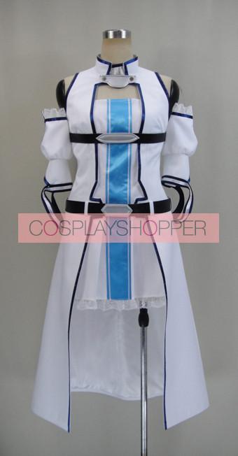 Sword Art Online Asuna Yuuki Extra Edition Cosplay Costume