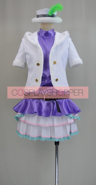 Love Live! Snow Halation Maki Nishikino Purple Cosplay Costume
