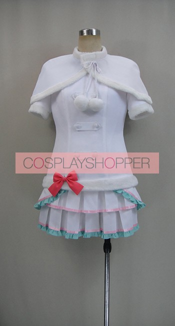 Love Live! Snow Halation Eri Ayase White Cosplay Costume