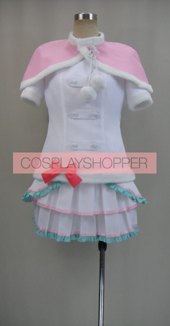 Love Live! Snow Halation Hanayo Koizumi White Cosplay Costume
