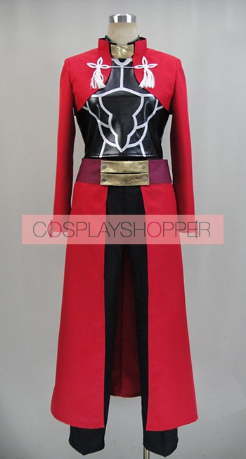 Fate Stay Night Archer Cosplay Costume - 2nd Edition