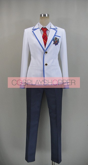 Daitoshokan no Hitsujikai A Good Librarian Like a Good Shepherd Kyotaro Kakei Cosplay Costume