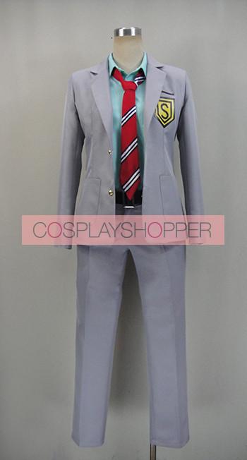 Your Lie in April Kosei Arima Boy's School Uniform Cosplay Costume