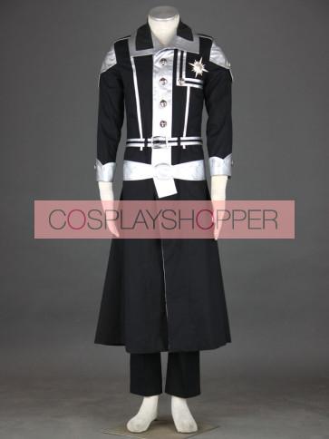 D.Gray Man Kanda Yu Cosplay Costume - 1st Edition