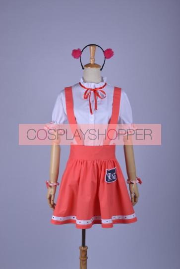 Oreimo Gokou Ruri Red Cosplay Dress