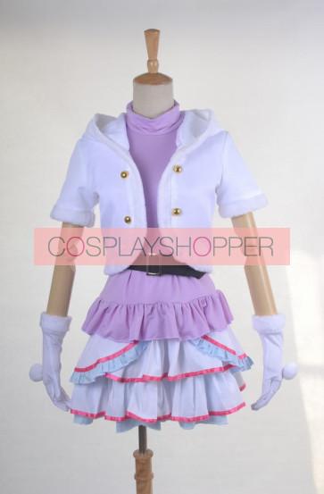 LoveLive! School idol project Snow Halation U's Maki Nishikino Cosplay Costume