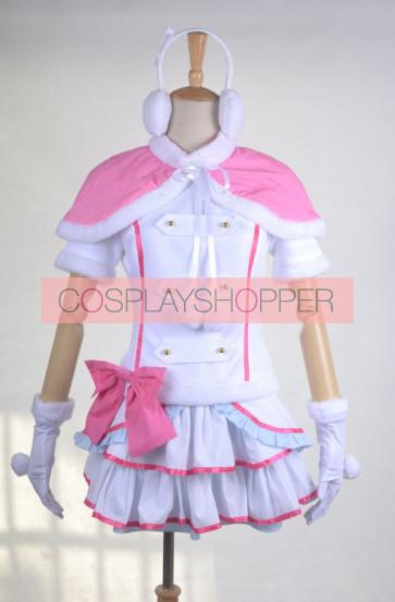 LoveLive! School idol project Snow Halation U's Koizumi Hanayo Cosplay Costume