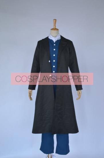 Gintama Hijikata Toushirou Cosplay Costume