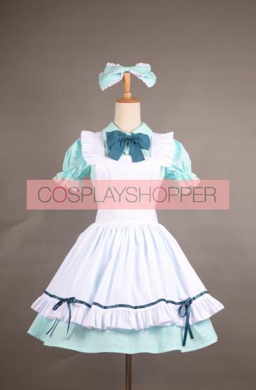 LoveLive! School idol project Koizumi Hanayo Alice Maid Cosplay Uniform