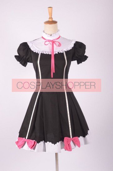 LoveLive! School idol project Yazawa Nico Black Cosplay Dress