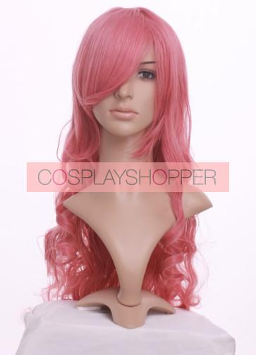 Pink 90cm Gundam Seed Lacus Clyne Cosplay Wig