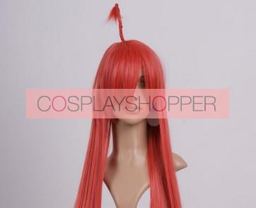 Red 100cm Pandora Hearts Rufus Barma Nylon Cosplay Wig