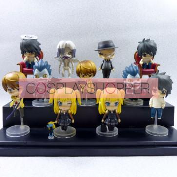 11-Piece Death Note Mini PVC Action Figure Set