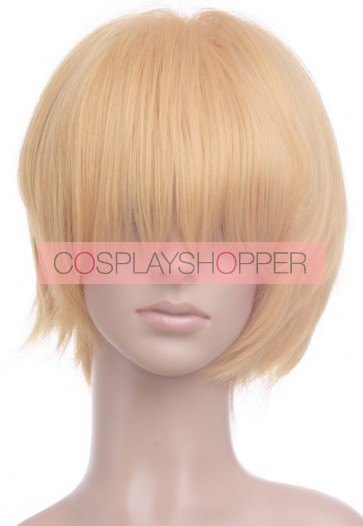 Light Gold Black Butler Kuroshitsuji Earl of Trancy Cosplay Wig