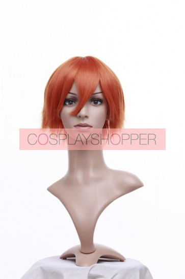 Orange 32cm Black Butler Kuroshitsuji Drossel Kainz Nylon Cosplay Wig
