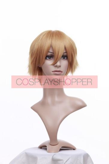 Blonde 32cm Black Butler Kuroshitsuji Bardroy Cosplay Wig