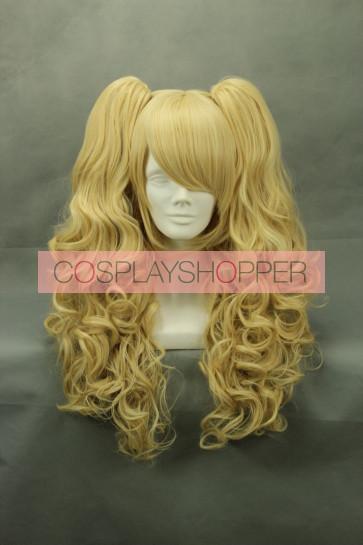 Light Gold 80cm Kimi to Boku Masaki Sato Cosplay Wig