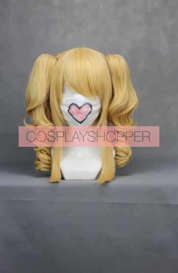 Golden 40cm Black Butler Kuroshitsuji Elizabeth Nylon Cosplay Wig