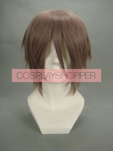 Brown 32cm Final Fantasy XIII Hope Estheim cosplay Wig