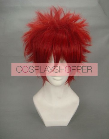 Red 30cm One Piece Kiddo Cosplay Wig