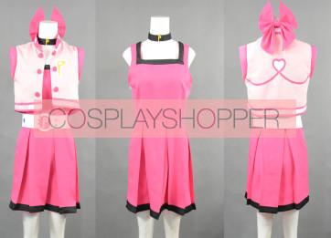 Powerpuff Girls Z Momoko Akatsutsumi Blossom Cosplay Costume